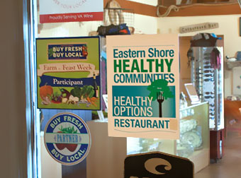 Healthy choices stickers